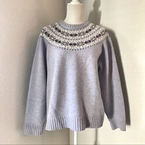 Woolrich Fair Isle Wool Sweater